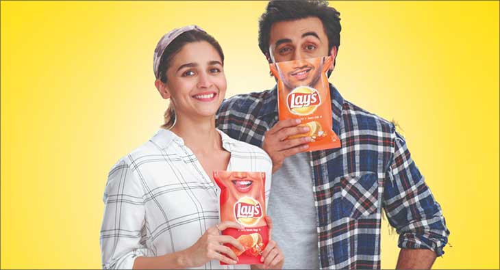 Alia Bhatt Ranbir Kapoor Lays