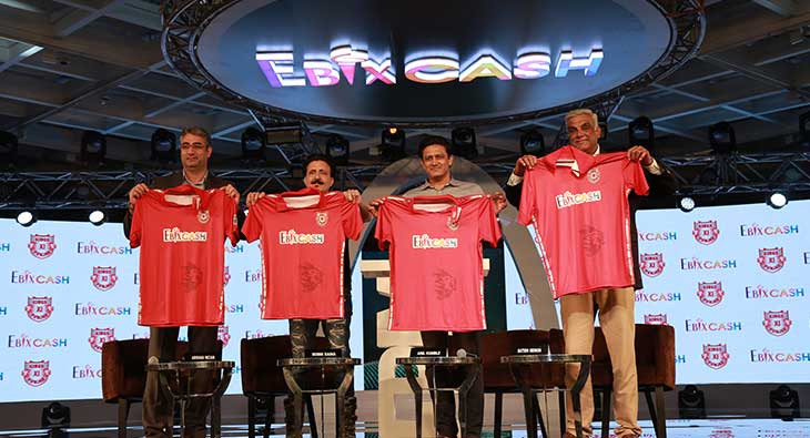 Kings XI Punjab EbixCash