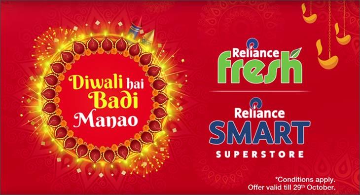 Reliance Fresh & Smart Diwali campaign