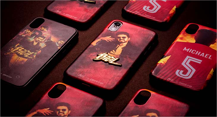 Cover It Up merchandise partners for Tamil action sports film Bigil