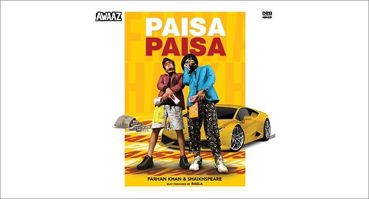 Sony Music label AWAAZ releases  'Paisa Paisa' track