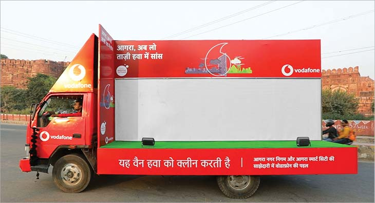 Vodafone Air Purifier Van