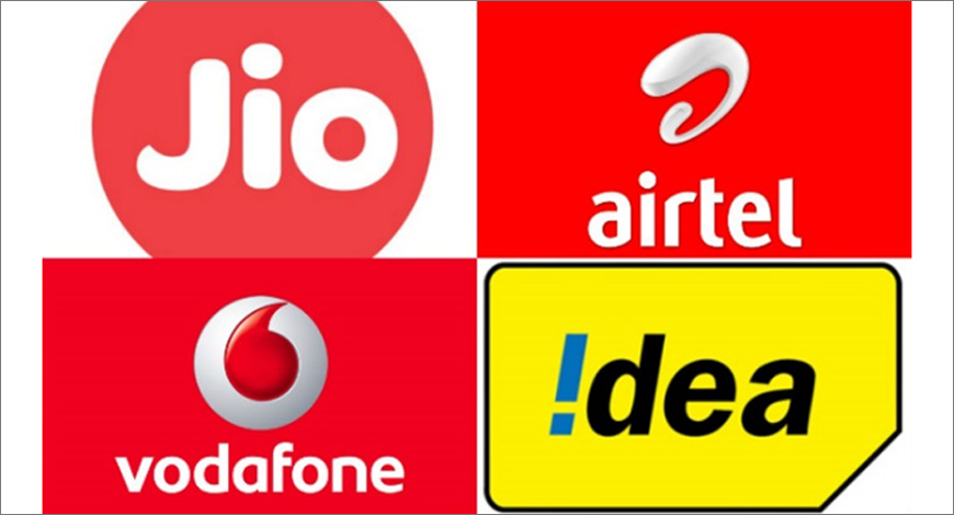 How has Reliance Jio's entry affected Vodafone, Airtel and