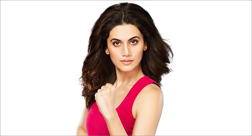 Taapsee Pannu Stands Strong with Women's Horlicks - Exchange4media