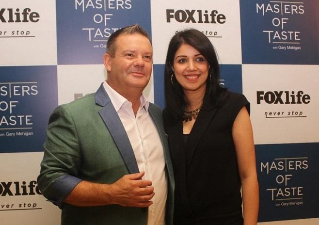 Gary Mehigan and Swati Mohan Fox Life