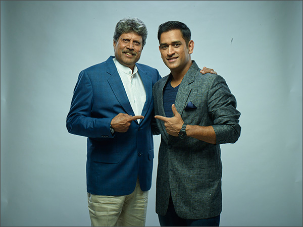 SRMB's campaign features cricket icons Kapil Dev and MS