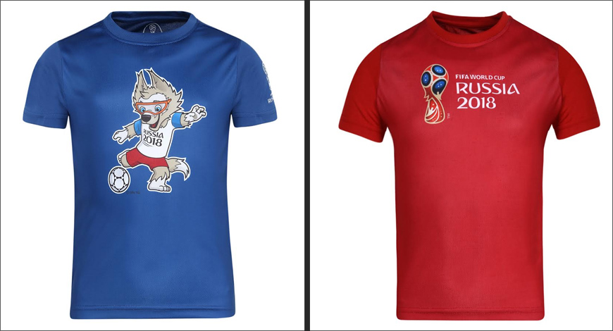 82e4a06df61 After bagging the rights for the upcoming 2018 FIFA World Cup Russia  Licensed Apparel Merchandise for India