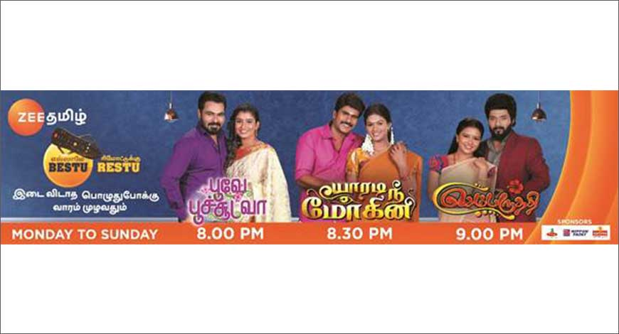 Zee Tamil extends its fiction band to all seven days of the