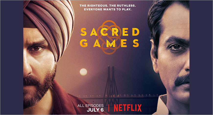 Netflix India creates buzz through OOH for Sacred Games