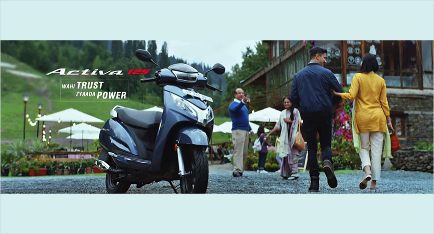 Honda Unveils Latest Campaign Sau Mein Se Sava Sau For Activa 125
