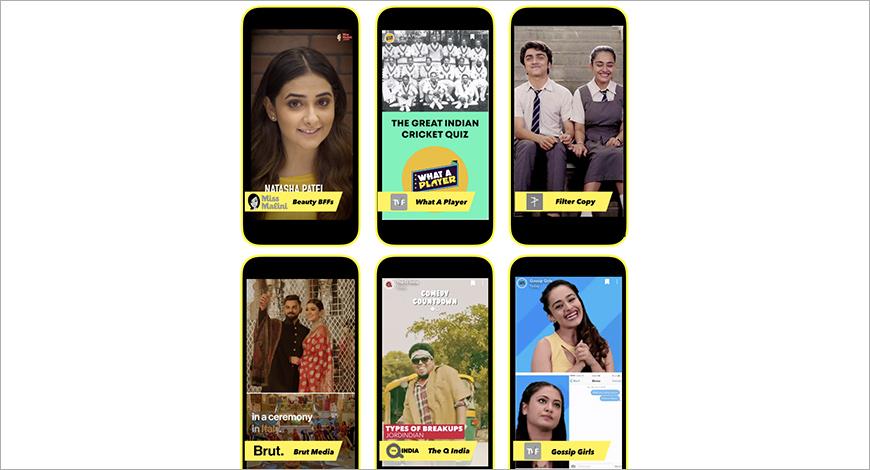 SnapchatDiscoverIndia