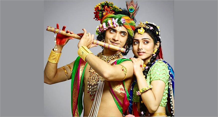 Vijay TV unveils new serial 'Radha Krishna' - Exchange4media