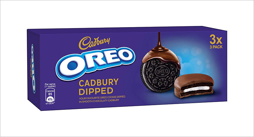 Oreo Cadbury Dipped