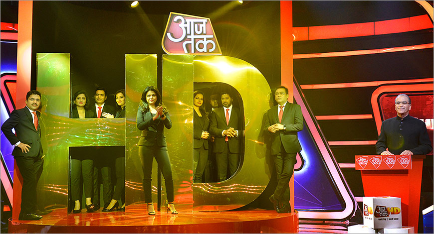 India Today Group launches Aaj Tak HD, India's first HD Hindi News