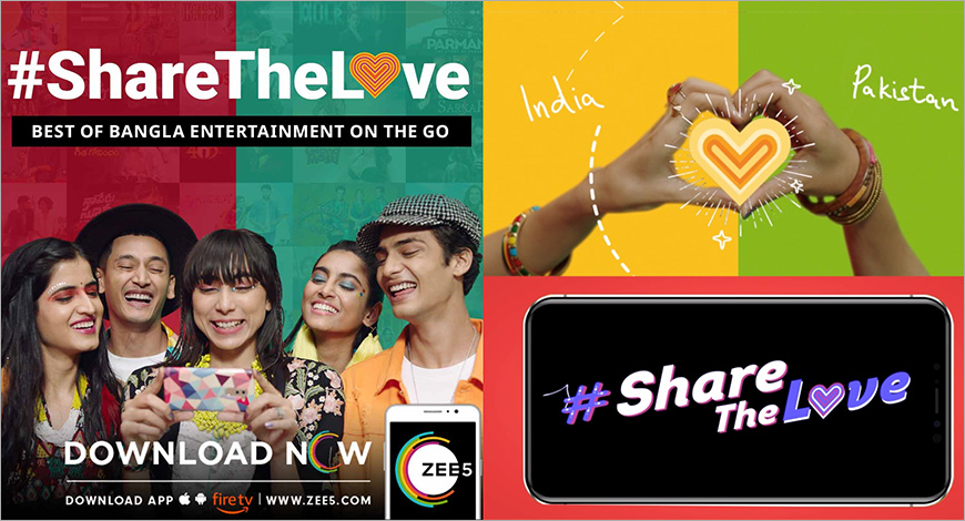 ZEE5 unveils new #ShareTheLove campaign for Pakistan and Bangladesh
