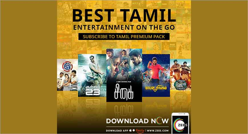ZEE5 unveils Tamil subscription packs for Malaysia and