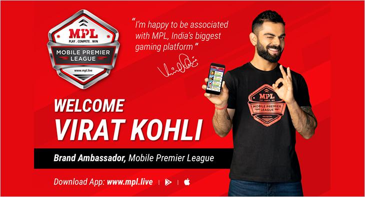 Virat Kohli Mobile Premier League