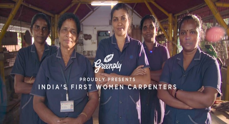 Greenply Women Carpenters