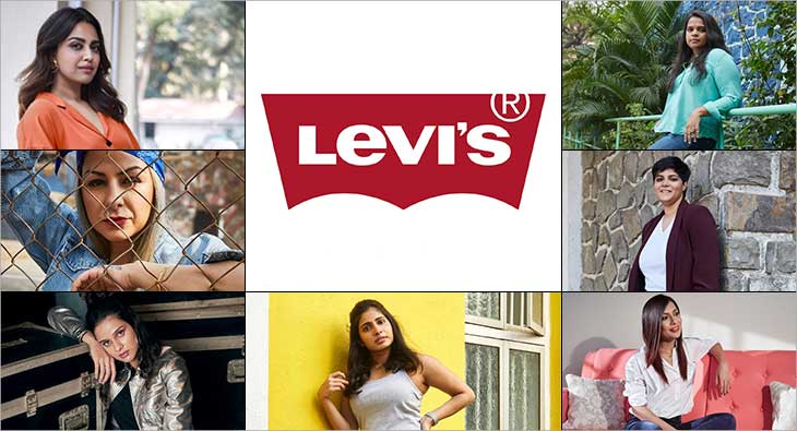 Levis #IShapeMyWorld Ad Campaign