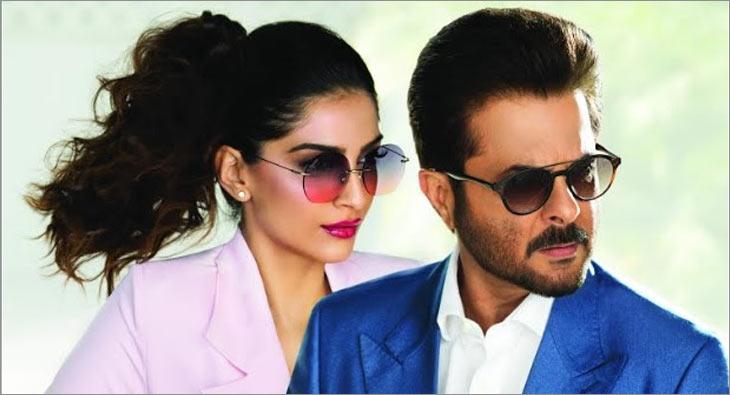 Sonam Kapoor and Anil Kapoor
