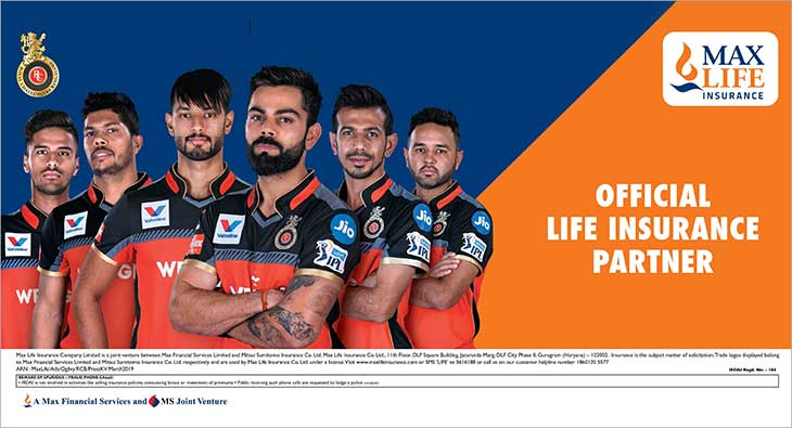 Maz Life Insurance Royal Challengers Bangalore
