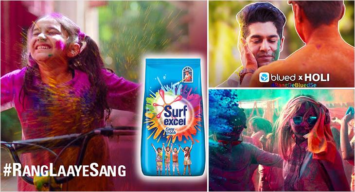 Holi Ad Campaigns