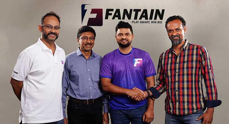 Suresh Raina Fantain