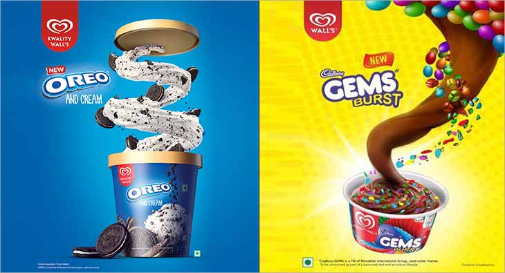 Gems Burst Oreo and Cream