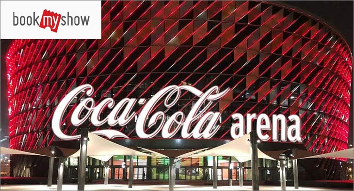 BookMyShow Coca Cola Arena