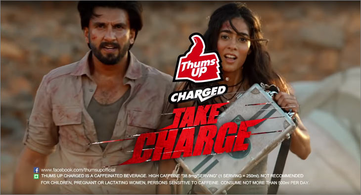 Thums Up Charged TVC Ranveer Singh