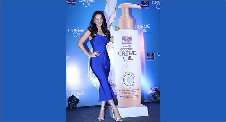 Kiara Advani Parachute Advansed Coconut Creme Oil