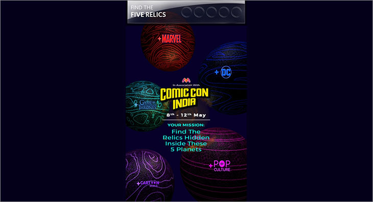 Comic Con India Myntra