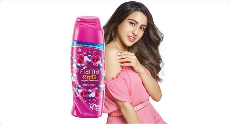 Sara Ali Khan for Fiama Body Wash