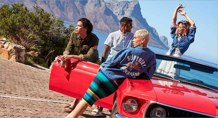 Superdry Summer of Nothing Campaign