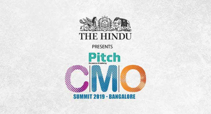 Pitch CMO Summit Bangalore 2019