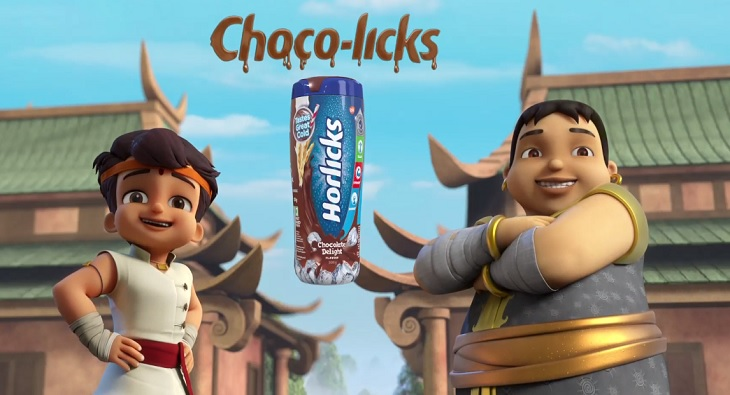 Horlicks and Chhota Bheem