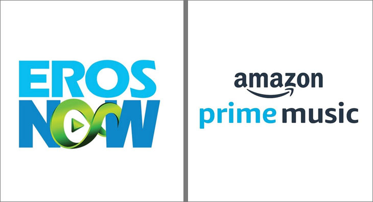ErosNow and Amazon Prime Music