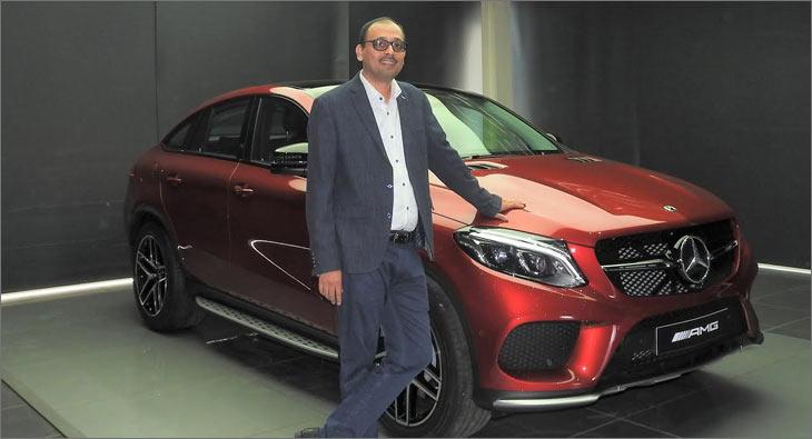 Santosh Iyer Mercedes Benz