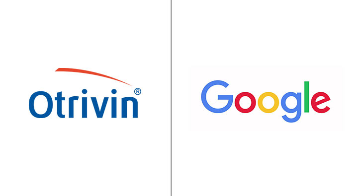 Otrivin and Google