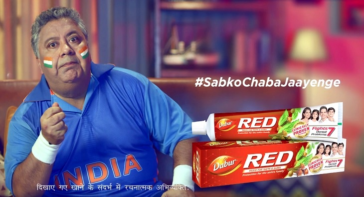 Dabur Red Paste Sabko Chaba Jaayenge