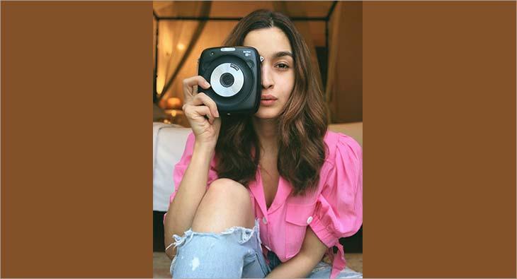 Alia Bhatt Fujifilm