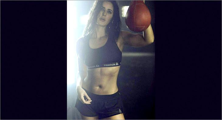 Katrina Kaif for Reebok