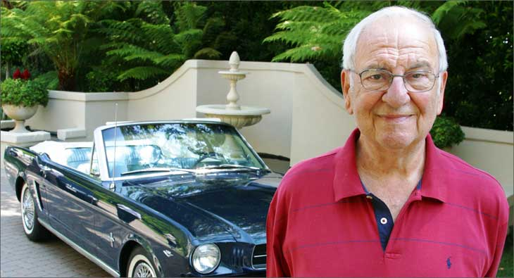 Lee Iacocca Mustang >> Creator Of Ford Mustang Lee Iacocca No More Exchange4media