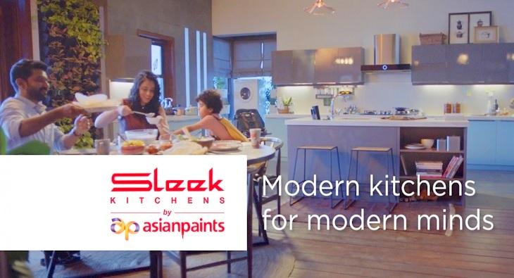 Asian Paints Sleek Kitchens