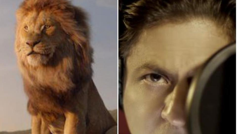 Shahrukh Khan voiceover's as Mufasa in The Lion King