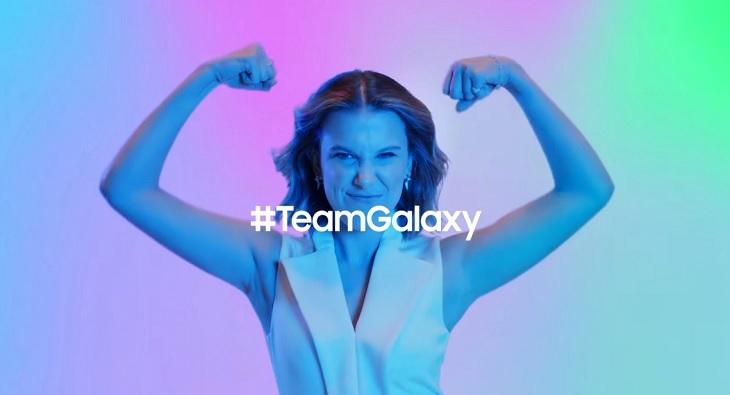 Millie Bobby Brown Team Galaxy