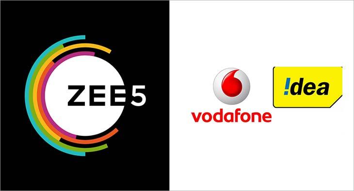 ZEE5 Vodafone Idea
