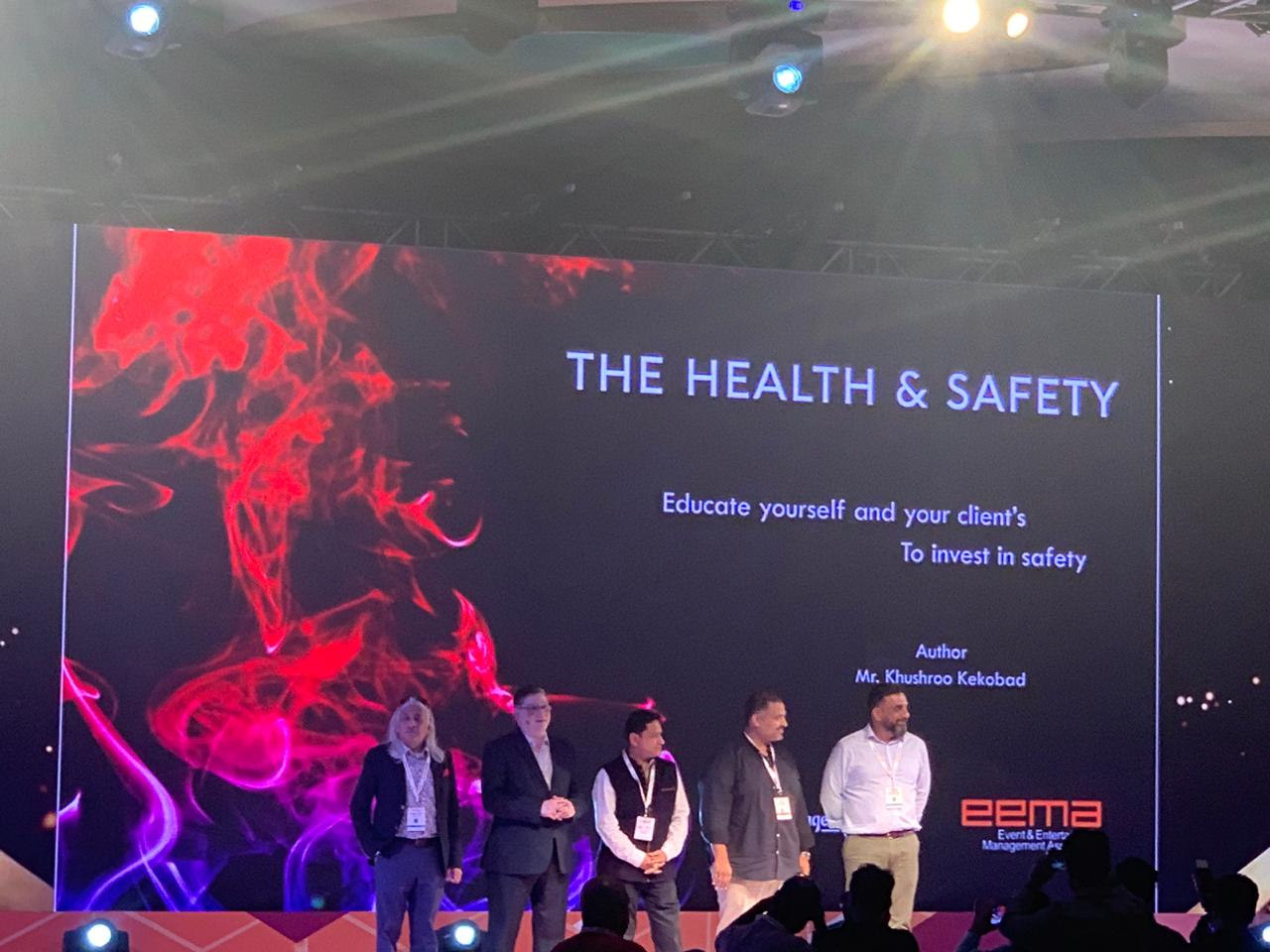 "Rajiv Kumar inaugurates ""The Health and Safety Report"""