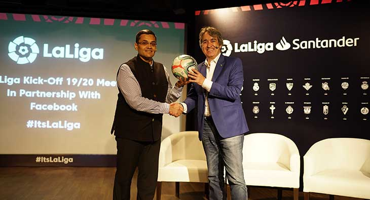 LaLiga Santander to be streamed live on Facebook Watch