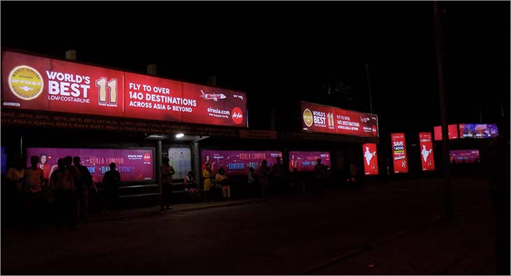 Air Asia OOH Campaign